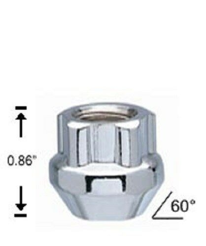 4 Pc MUSTANG OPEN LOCKING LUGS CUSTOM WHEEL LOCKS 1//2 # AP-41405