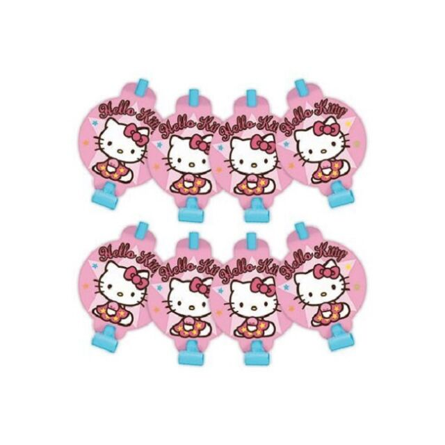 Hello Kitty Balloons Birthday Party Blowouts - NEW!!