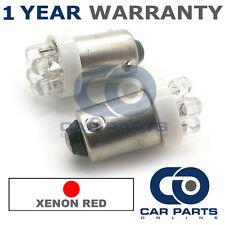2x XENON rosso BAX9S H6W 434 LUCI DI POSIZIONE Upgrade 7 TESTATA LED LAMPADINE