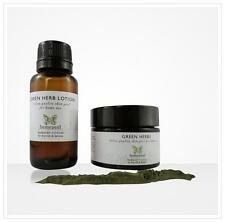 Green Herb Skin Peel - Face Peel, Chemical Peel, Skin Peeling Kit for Home Use