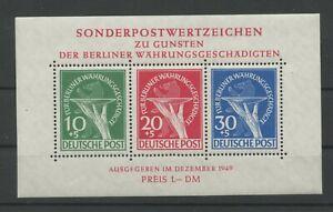 Germany-Berlin-vintage-yearset-1949-Mi-Block-1-Mint-MNH-More-Shop