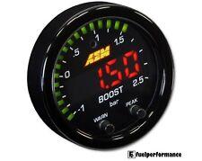 AEM X-Series Boost Pressure Display Gauge -30in/Hg~35psi / -1~2.5bar 30-0306