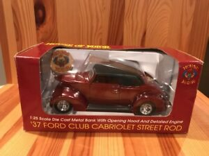 House-Of-Kolor-37-Ford-Club-Cabriolet-Street-Rod-Bank-Speccast-1-25th-Scale-Car