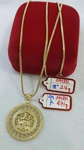 Gold-Authentic-18k-saudi-gold-necklace-with-pendant-y