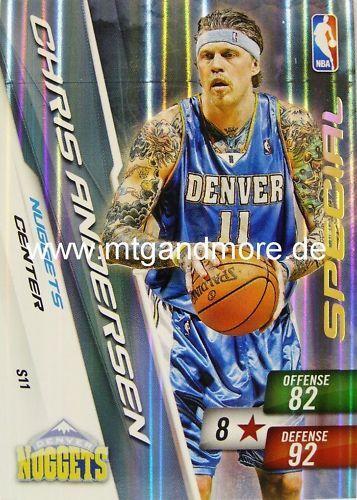 Panini NBA adrenalyn xl 2011-Chris Andersen-special