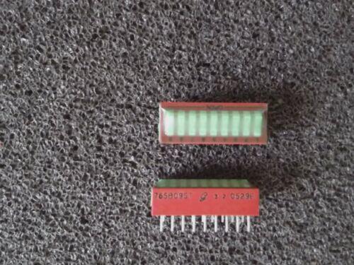 1 x Dip -/SIP-interruptor - 9 posiciones - 150ma - 30v - 76sb09st-nuevo
