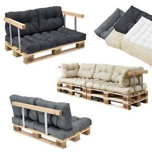 coussins de palette en ext rieur canap tapisserie si ge ebay. Black Bedroom Furniture Sets. Home Design Ideas