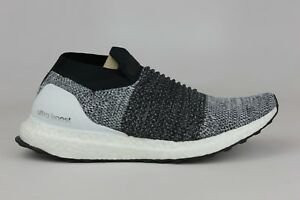 5a7bfa1d5 Image is loading ADIDAS-ORIGINALS-ULTRABOOST-LACELESS-WHITE-BLACK-OREO-MEN-