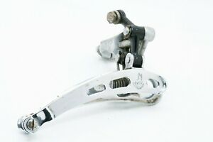 Campagnolo-Super-Record-3-Holes-28-6mm-Clamp-On-Front-Derailleur-Speed-Vintage