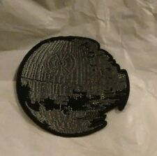 Embroidered Star Wars Empire's Death Star Iron On Patch