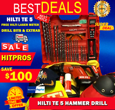 Hilti Te 5 Hammer Drill Lk Free Hilti Laser Free Drill Bits Fast Shipping