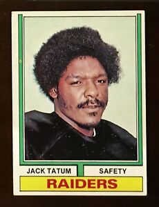 1974-Topps-Football-14-Jack-Tatum-EX-MT