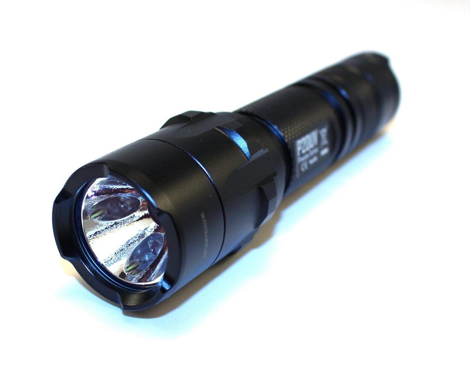 Nitecore P20UV Flashlight, Police, Security, Search & Rescue, MOD, Ultra Violet