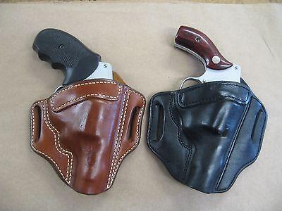 Azula Leather OWB 2 Slot Pancake Belt Holster CCW For...Choose Gun & Color - B
