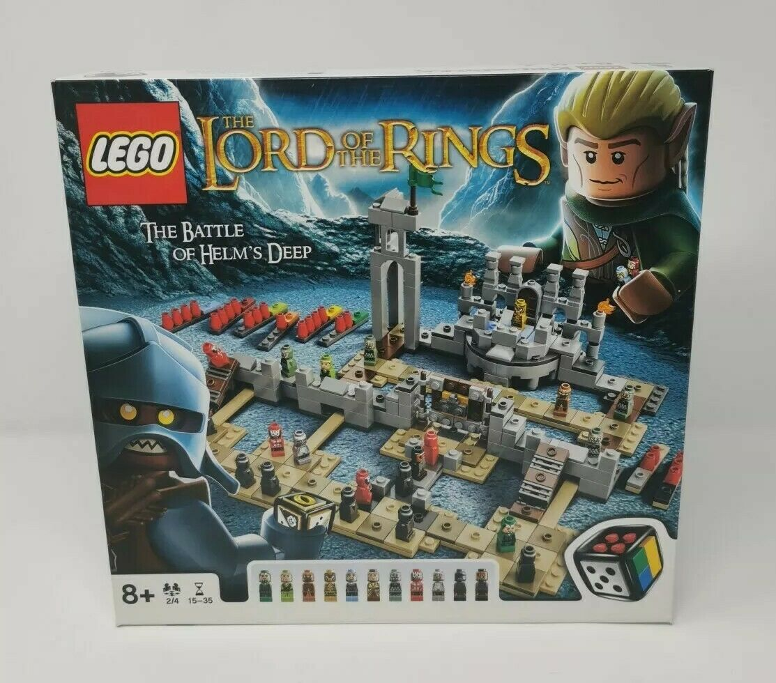 Lego 50011 Lord Of The Rings Battle Of Helms Deep Game