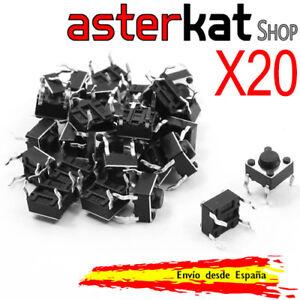 20x-pulsador-6x6x5mm-4-pines-botones-switch-Arduino-Raspberry-pin-boton-pins-pic