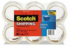 Heavy Duty Shipping Packaging Tape 188 Inches X 546 Yards 8 Rolls 3850 8