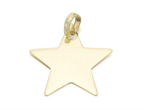 F Hinds Mujer señoras 9ct encanto de la Estrella de Oro