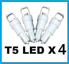 T5-Super-White-LED-Side-Wedge-Dome-Bulb-T5-T6-5-74-37-Holden-Ford