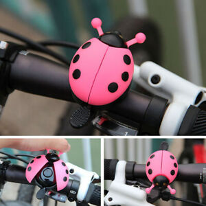 Lovely-Kid-Funny-Lady-Beetle-Ladybug-Cycling-Bicycle-Bike-Ride-Ring-Bell-Horn-M1