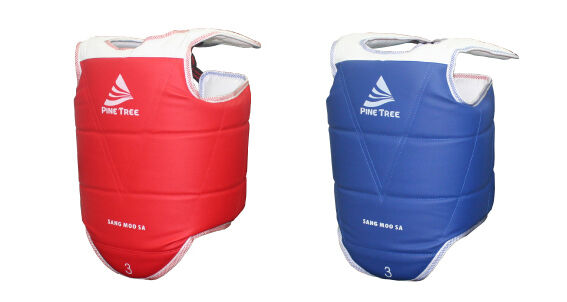 Taekwondo  SANGMOOSA Body Predector Gear RED blueeE Set Target Training Guard  customers first