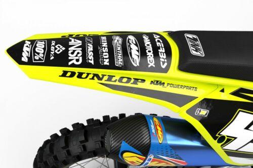 Polisport Complete Replica Plastic Kit Flo Yellow KTM 350 SX-F 2016-2018