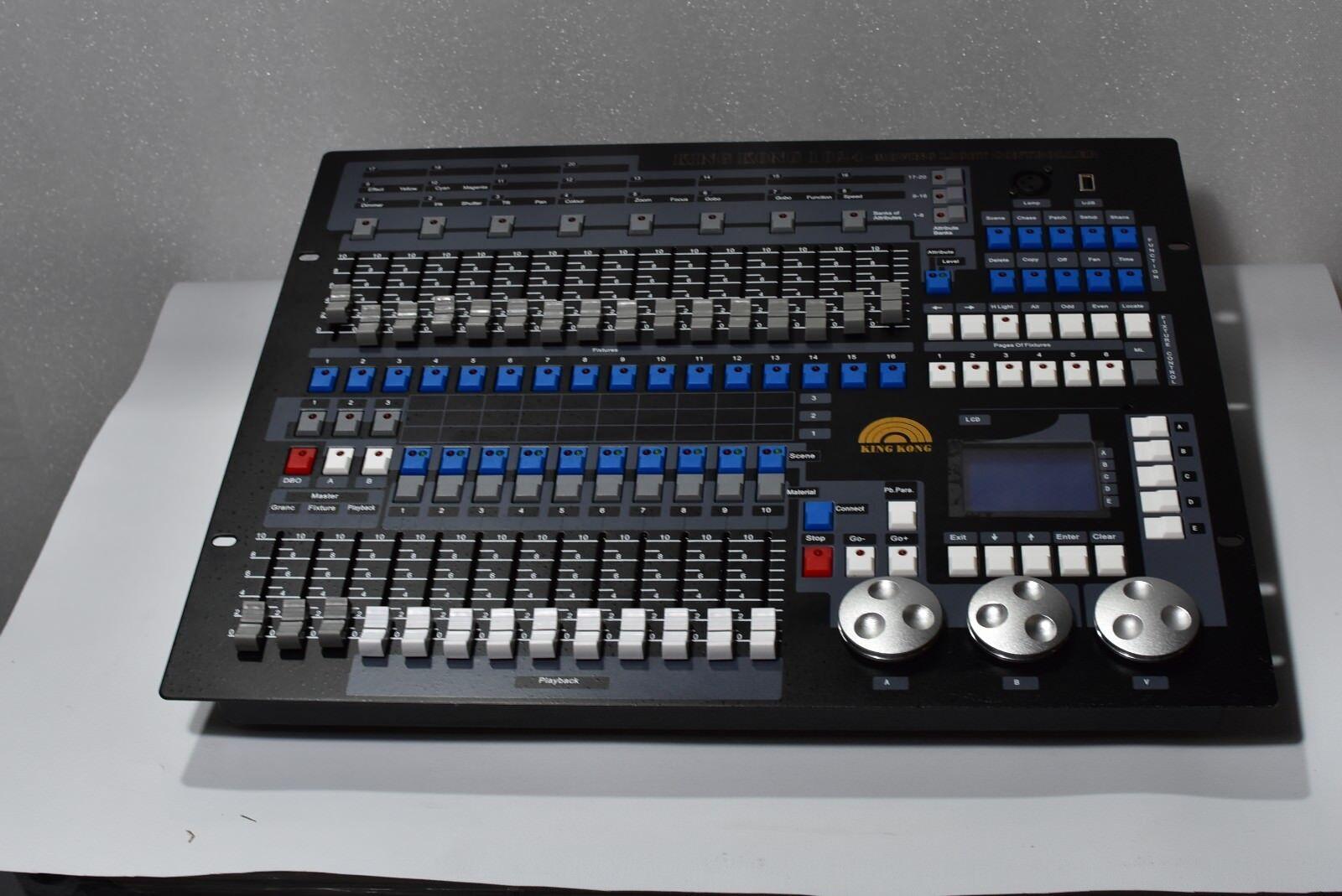 Dj Ausrüstung King kong 1024 dmx Controller Beleuchtungskonsole dmx512 ccontrol