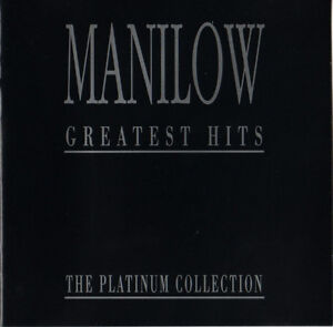 Barry-Manilow-CD-Greatest-Hits-The-Platinum-Collection-England-EX-VG