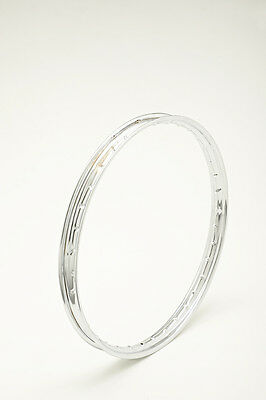 CERCHIO IN ACCIAIO CROMATO CHROMED STEEL WHEEL RIM 1.60 X 17 36 FORI