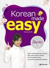 Korean Made Easy Book Hangul Study Text (Starter with MP3 CD) English Version