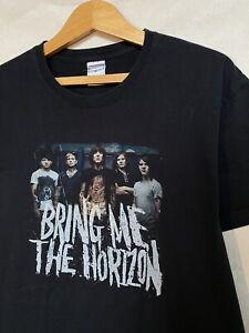 Bring Me The Horizon Vintage Rock Band Tee Size L