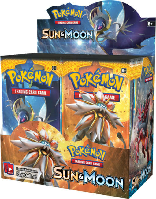 Pokemon SM1 TCG English Sun and and and Moon Booster Box 36ct FACTORY SEALED   185a9c