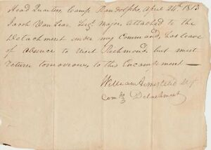 William-Armistead-signed-War-of-1812-leave-for-North-Carolina-soldiers