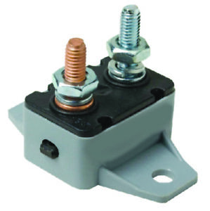 Boat Marine Auto RV 30 Amp Manual Reset Circuit Breaker 12//24V DC