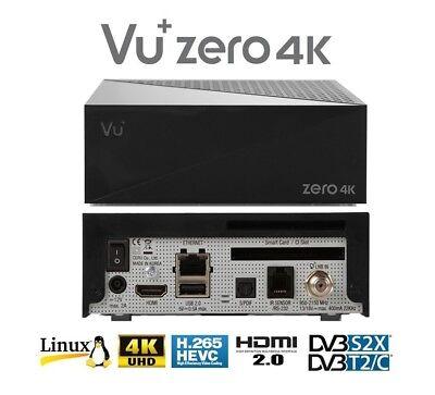 ZERO 4K POLSKA TELEWIZJA FULL PAKIET TUNER LINUX ENIGMA2 UHD 2160P DEKODER VU