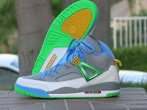 9827b43df0d762 Nike Air Jordan Spizike Stealth Men s Basketball Shoes EASTER 315371 ...