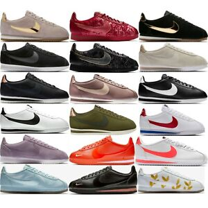 211e613fa8 Nike Classic Cortez Sneakers Women s Casual Lifestyle Comfy Shoes