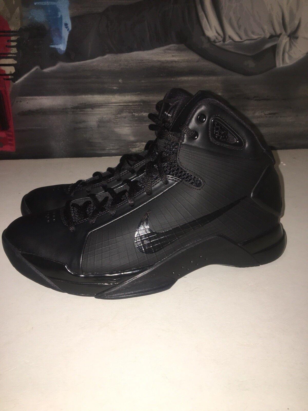 Nike Hyperdunk Retro Size 10 Men's Basketball Retro Hyperdunk Kobe Black 820321-002 d2d85d