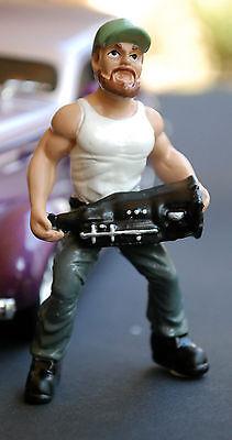 23999 American Diorama Musclemen Officina Meccanico Trucker Troy, 1:24-mostra Il Titolo Originale Acquisto Speciale