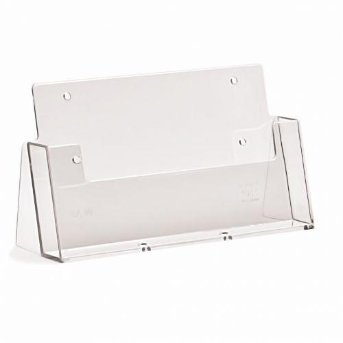 A5 Landscape Leaflet Holder Menu Dispenser Flyer Counter Top Display Stand