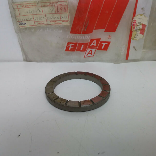 Ring Metallische Differential Sp 6.90 Fiat 124 Spider Original 4318814