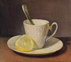 """""""Tea Cup and Lemon Slice"""" by Duane Keiser"""