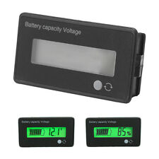 12V LCD Acid Lead Lithium Battery Capacity Indicator Voltmeter Voltage Tester