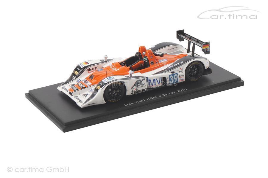 Lola-Judd KSM - 24h Le Mans 2010-de pourtales Noda Kennard-spark - 1 43