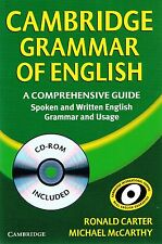 CAMBRIDGE GRAMMAR OF ENGLISH Guide Book Spoken & Written English w CD-ROM @New@