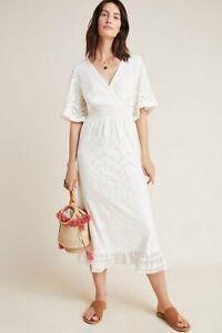 NWT-Farm-Rio-Devore-Maxi-Dress-230-Ivory-Lace-Size-Large-L-12-14