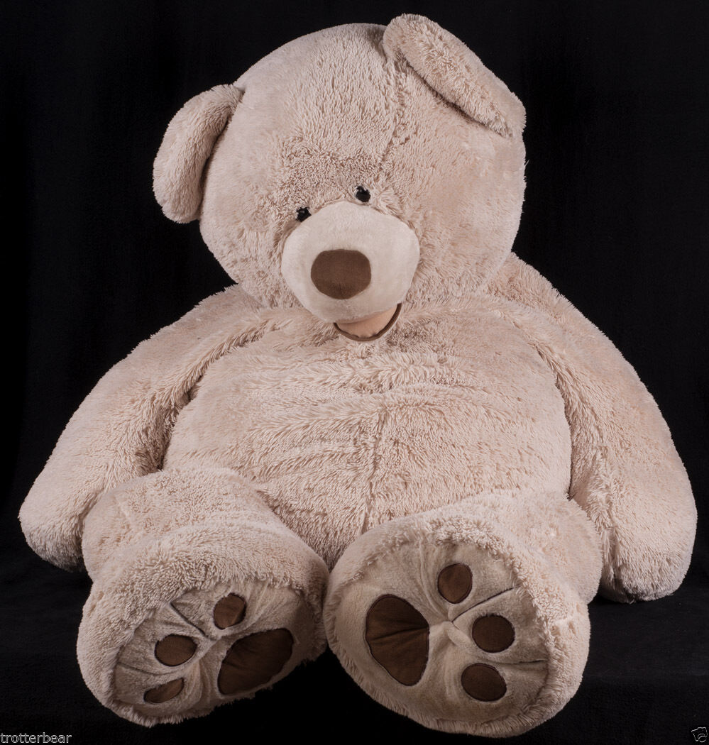 Giant 58  Hugfun Teddy Bear Brown Photography Studio Prop Jumbo Plush Animal