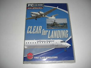 Clara-para-aterrizaje-PC-CD-ROM-Add-On-Flight-Simulator-Sim-2004-X-FSX-FS2004-Nuevo