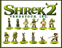 Retired Shrek 2 Movie Mini Collection Figure Cake Toppers Decorations Gifts