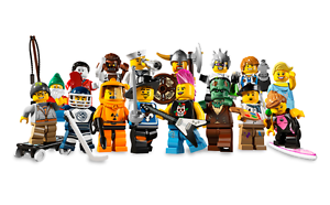 8803 Lego Minifigures  serie 3 - Choose Your Figure Au choix